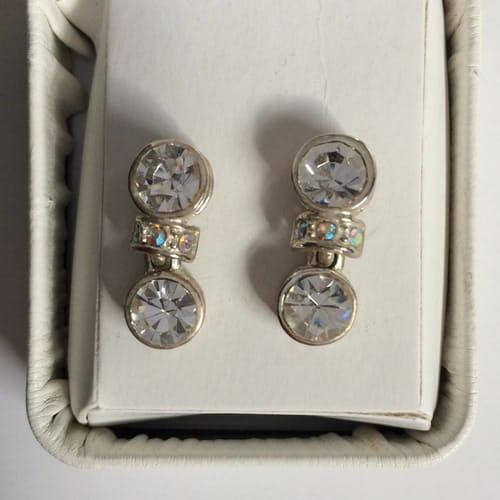 Earrings, $22